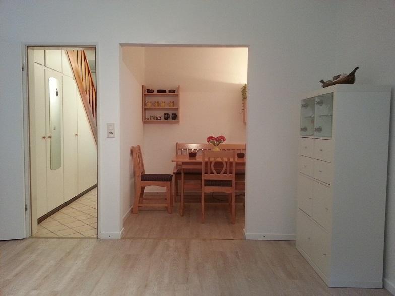 innenansichten ferienhaus reihenhausstil in sankt peter ording an der nordsee. Black Bedroom Furniture Sets. Home Design Ideas